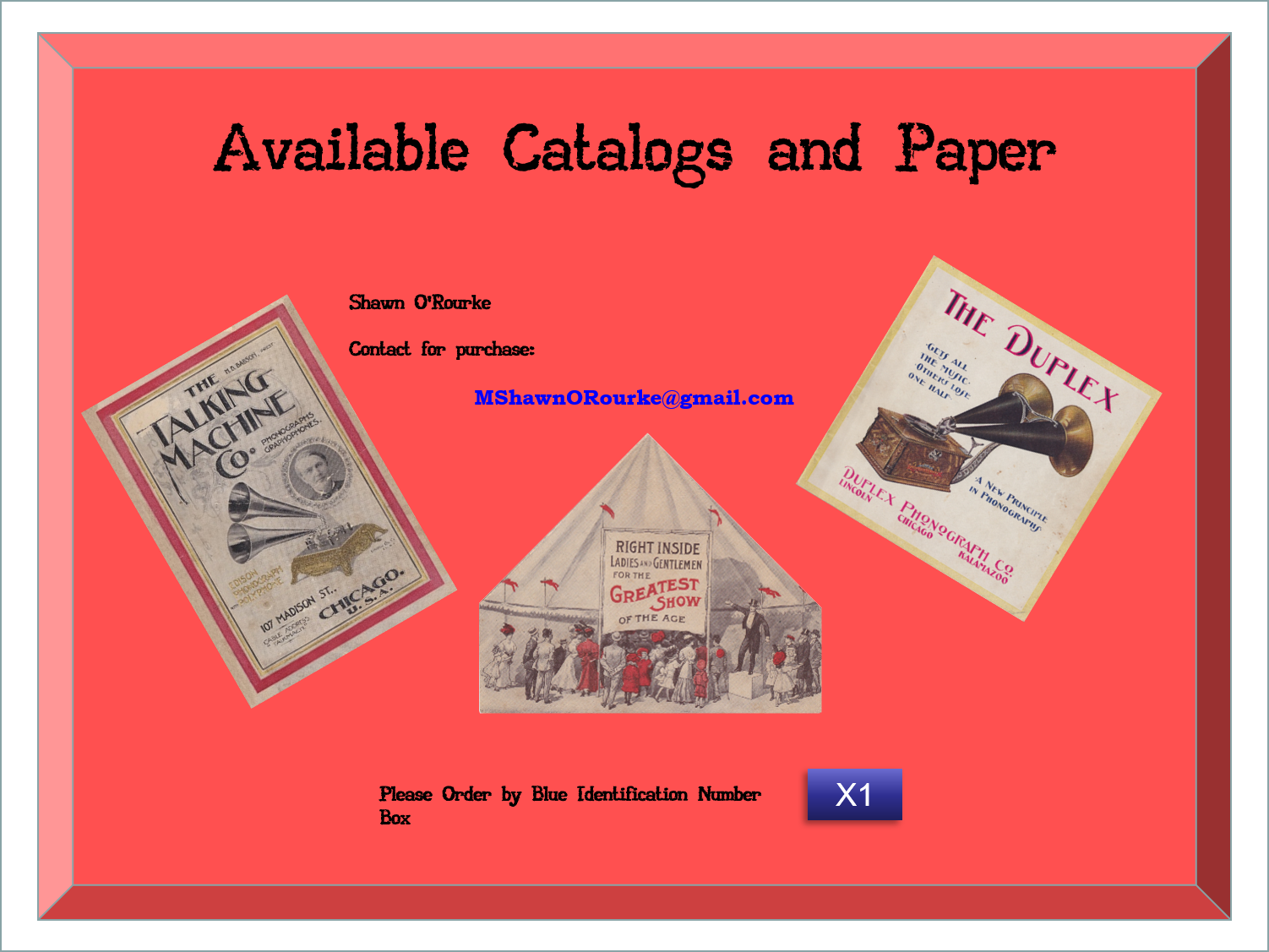 FOR SALE : REPRINTED PAPER SALE - ½ OFF!!!