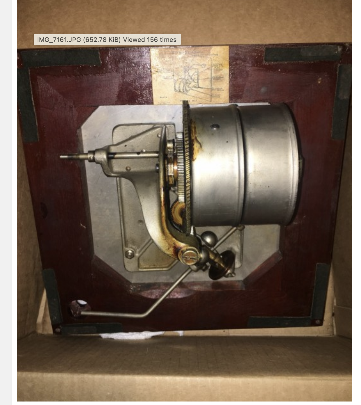 WANTED: Early Victrola VV-XI Type D Crank